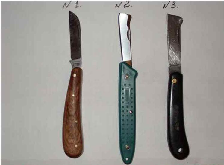 Окулировочный нож своими руками видео